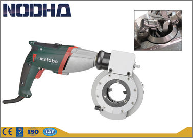16.5kgs Self - Centering Pipe Cutting And Beveling Machine With Metobo Motor