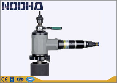 ประเทศจีน Compact Design Air Driven / Pneumatic Pipe Beveler Lower Weight 15mm Wall Thickness โรงงาน